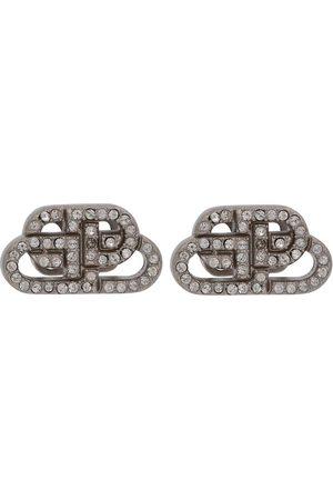 Balenciaga BB XS crystal earrings