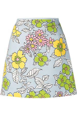 Tory Burch Falda corta con estampado floral
