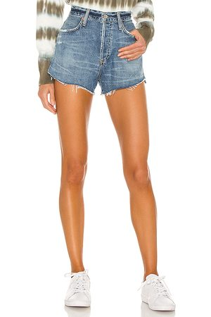Citizens of Humanity Annabelle cut off short en color azul talla 23 en - Blue. Talla 23 (también en 24, 25, 26, 27