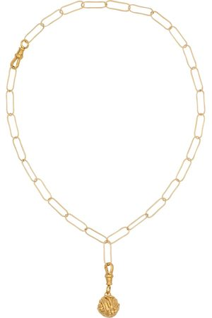Alighieri The Unfolding Reverie Chapter II 24kt gold-plated necklace