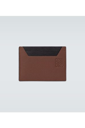 Loewe Hombre Carteras y Monederos - Grained leather cardholder