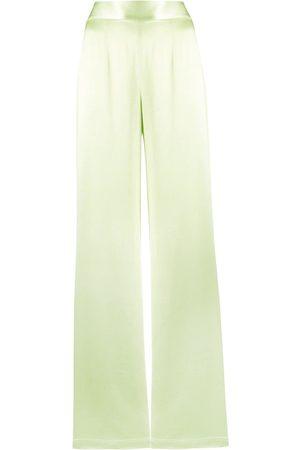 GALVAN High-waisted wide-leg trousers