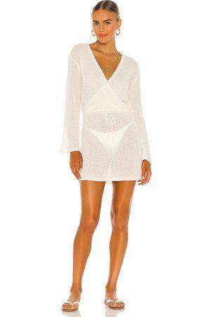 L*Space Vestido topanga en color talla L en - Cream. Talla L (también en S, XS, M).