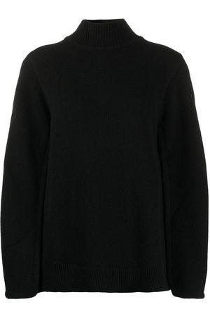 Jil Sander Suéter tejido estilo capa