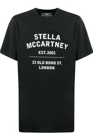Stella McCartney Playeras - Playera con logo estampado