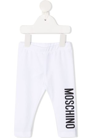 Moschino Leggings y treggings - Leggins con logo estampado