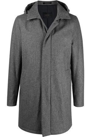DELL'OGLIO Hombre Abrigos - Abrigo con capucha y botones
