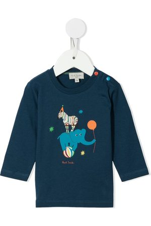 Paul Smith Top Circus de manga larga