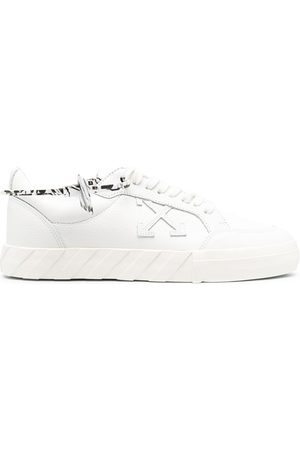 OFF-WHITE Hombre Tenis - LOW VULCANIZED CALF LEATHER WHITE WHITE