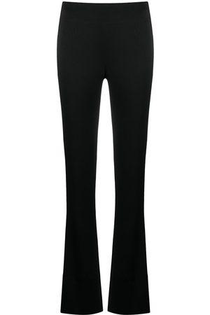 GALVAN Mujer Pantalones y Leggings - Satin slashed trousers