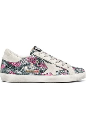 Golden Goose Mujer Tenis - Superstar glitter-effect sneakers