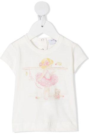 MONNALISA Ballerina print T-shirt