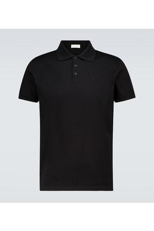 Saint Laurent Hombre Polos - Short-sleeved polo shirt