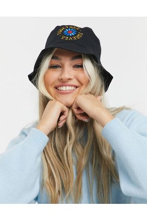 ASOS Mujer Sombreros - Canvas bucket hat with together logo