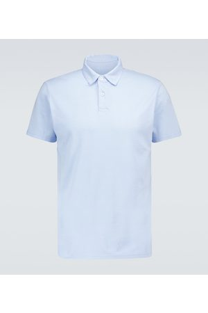 DEREK ROSE Ramsay short-sleeved polo shirt
