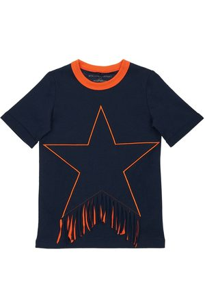 Stella McCartney Niña Vestidos - Vestido De Algodón Orgánico Con Parche