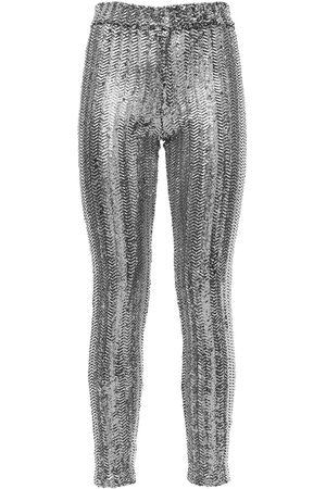 "Isabel Marant Mujer Slim y skinny - Pantalones Skinny Fit ""todiz"" Con Lentejuelas"