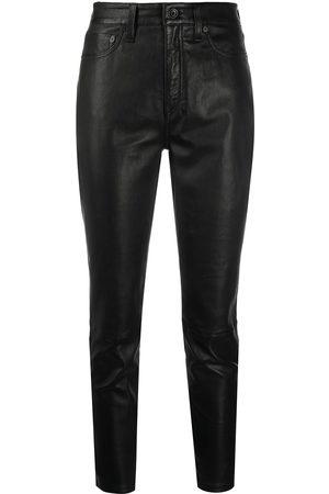 RAG&BONE Pantalones slim con tiro medio