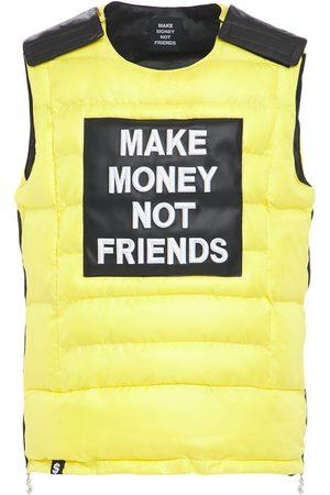 MAKE MONEY NOT FRIENDS Chaleco De Algodón Con Logo