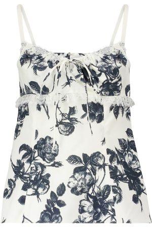 BROCK COLLECTION Siria floral cotton camisole