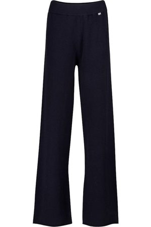 EXTREME CASHMERE N° 104 cashmere-blend trackpants