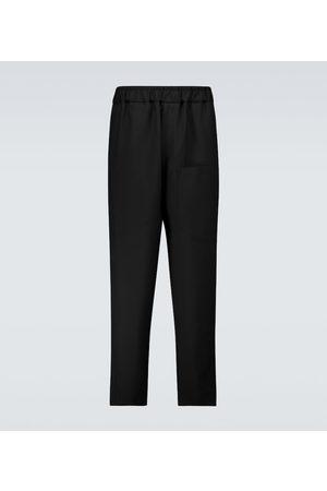 Jil Sander Elasticated wool pants