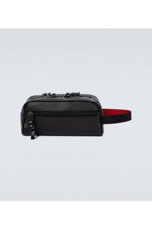 Christian Louboutin Blaster leather washbag