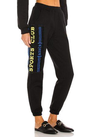ATOIR Pantalón deportivo sport club en color talla L en - Black. Talla L (también en M, S, XS).