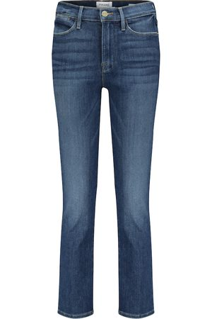 Frame Mujer Skinny - Le High cropped straight jeans
