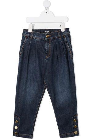 Balmain Jeans con botones en los tobillos