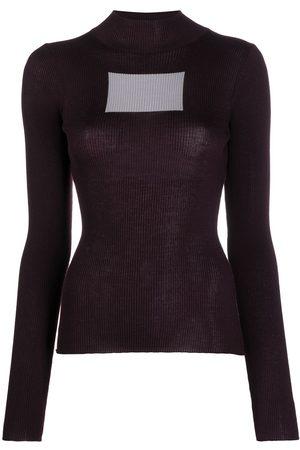COPERNI Suéter en intarsia de dos tonos