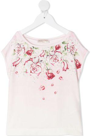 MONNALISA Blusa sin mangas con estampado floral