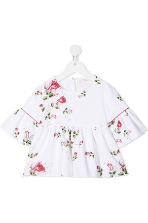MONNALISA Blusa con estampado floral