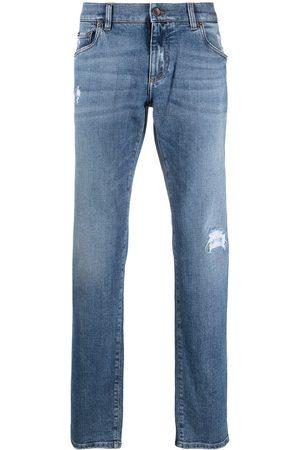 Dolce & Gabbana Jeans con parche del logo
