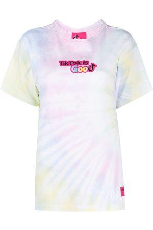 Ireneisgood Playera con estampado tie dye