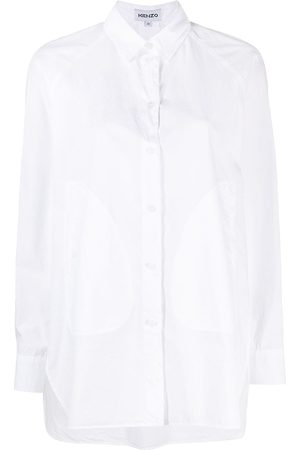 Kenzo Camisa con paneles