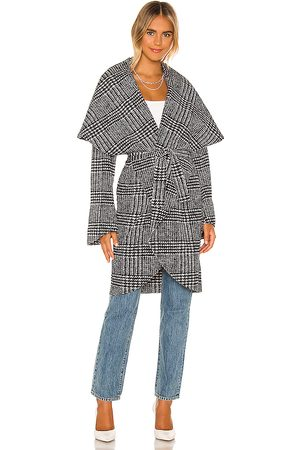 Norma Kamali Abrigo en color black & white talla M en - Black & White. Talla M (también en S).