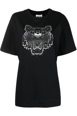 Kenzo Playera con estampado Tiger