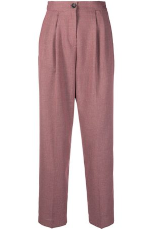 Paul Smith Pleat-front straight leg trousers