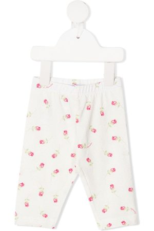 MONNALISA Flower print trousers