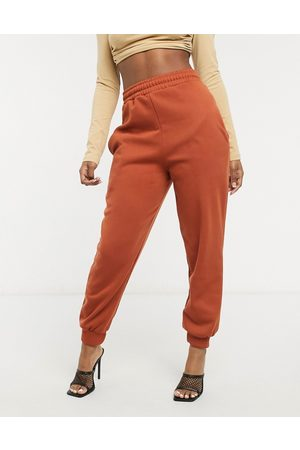 I saw it first Exclusive oversized jogger in chestnut