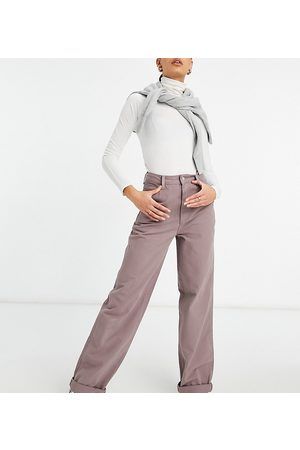 ASOS ASOS DESIGN Tall 'slouchy' chino in washed lilac