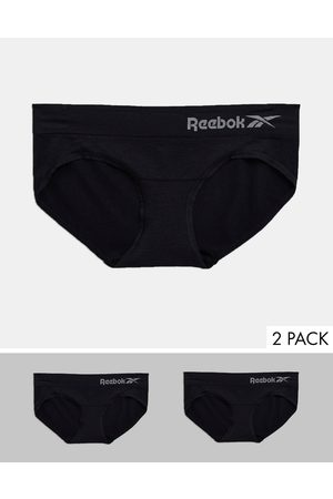 Reebok 2 pack seamless brief in black