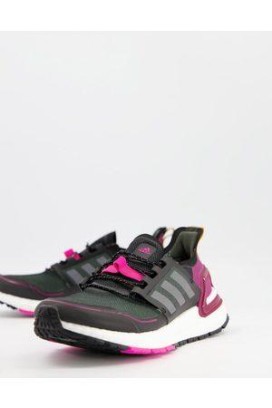 adidas Adidas Running Ultraboost 20 in black and purple