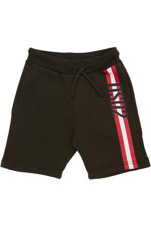 Dsquared2 Shorts Deportivos De Algodón Estampados