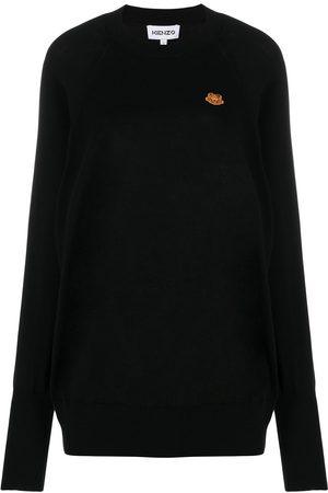 Kenzo Suéter tejido con motivo Tiger