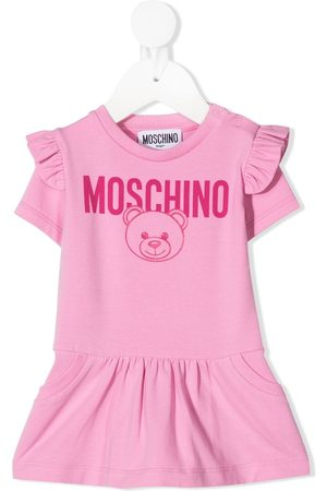 Moschino Estampados - Vestido con motivo Teddy Bear