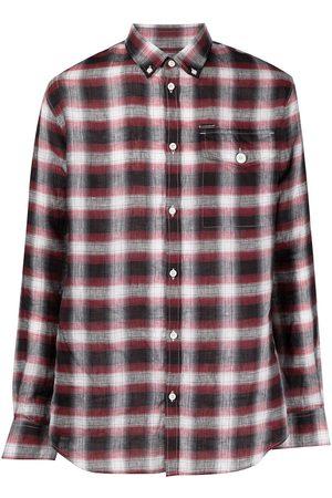 Dsquared2 Camisa a cuadros de manga larga