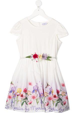 MONNALISA Vestido con estampado floral
