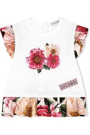 Dolce & Gabbana Floral-print T-shirt dress
